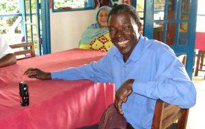 older Angolar man