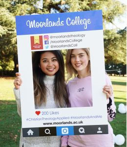 Moorlands College social media